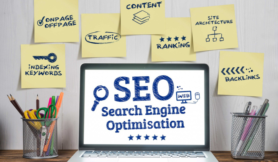 Rich Results on Google's SERP when searching for 'Search Engine Optimisation'